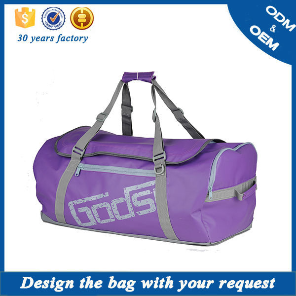 Top sale single canvas fashion swagger bag sport gym bag