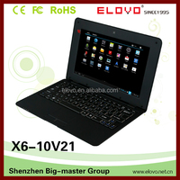 Roll top laptop price 10.1 inch VIA WM8880 dual core 1GB 8GB touchscreen with laptop bag