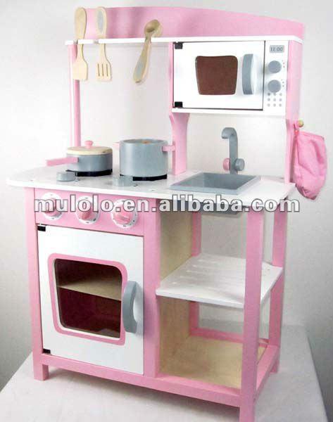 cuisine de jeu en bois pliable pour l 39 enfant avec des accessoires jouets cuisine id de produit. Black Bedroom Furniture Sets. Home Design Ideas