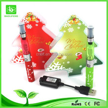 Christmas edition ego tech e cigarette high quality ego tech e cigarette
