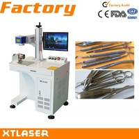sanitary wares/surgical instruments/car spare parts laser marking machine