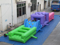PVC Inflatable obstacle course/inflatable game for sale