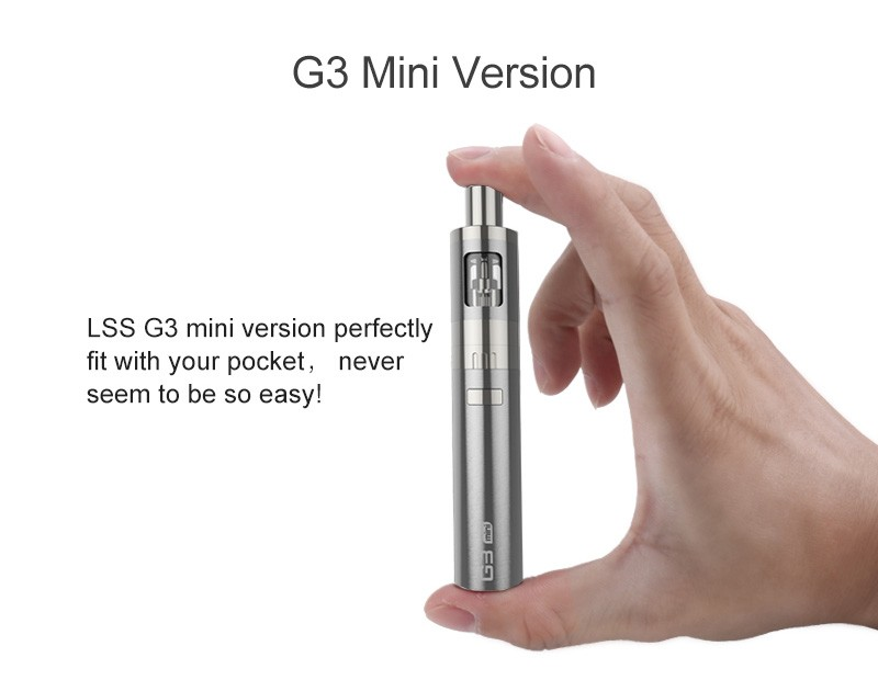 EGO electonic cigarette premium kit MINI G3 ego vapor starter kit mechanical mod ecig