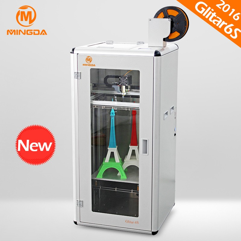 MD-6S Large 3 d print carbon fiber , MINGDA 3d printer machine at user-friendly