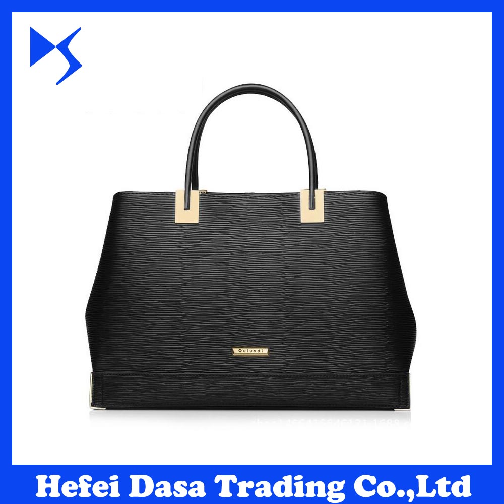 Fashion elegance bags genuine leather women <strong>handbag</strong> tote bag shoulder bag DS-BG003