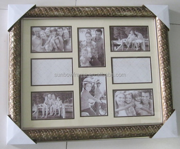 16x20 Quot Ps Photo Frame With Double Mat Hold 4 4x6 Quot Photos
