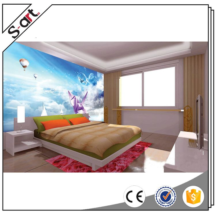 Factory supply attractive wal3d l murals for baby room