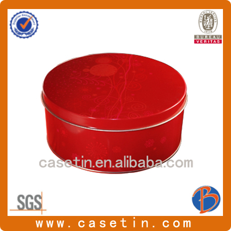 hot sales hinged decorative tin boxes with lids