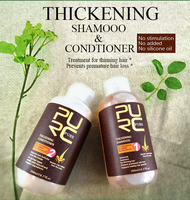 natural hair thickening shampoo no silicone oils for hair growth