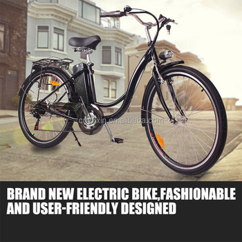 "26"" EN15194 250W36V Lithium battery city electric bike"