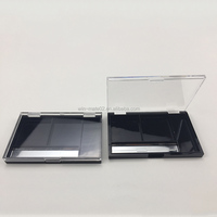 Best sale transparent clear square empty compact powder case