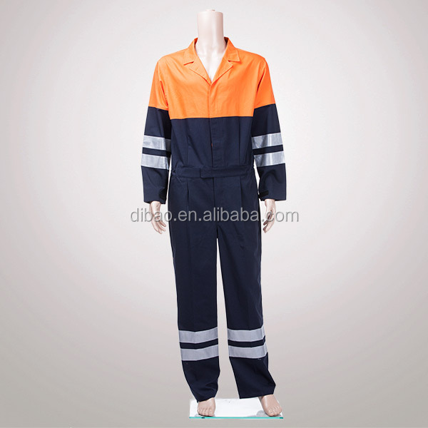 High Visibility Reflective Working Coverall Uniform