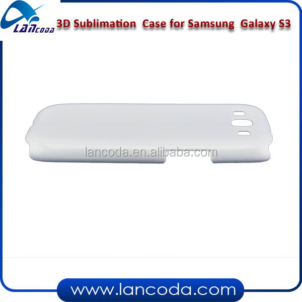 3D sublimation mobile phone cover for Samsung Galaxy S3 I9300 heat transfer