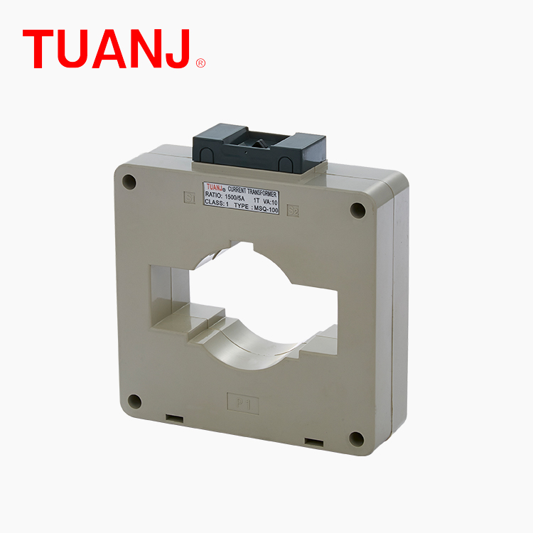 TUANJIE MSQ-100 MFO-100 Ring type low cost high accruary classic plastic case CT current transformer