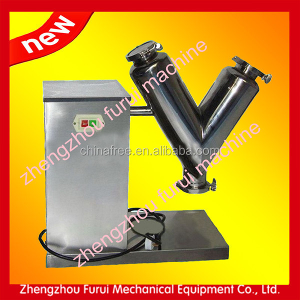 High efficiency stainless steel coffee bean mixer machine/mixing of food powder v mixer machine