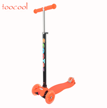 TK01 High Quality Adjustable Height 4 Wheels Children Kids Kick Scooter