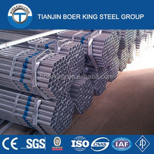 Construction material used hot rolled galvanized steel pipes Q235