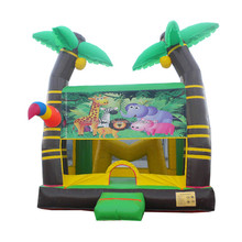High safety inflatable bounce round,inflatable jumping castle F1174