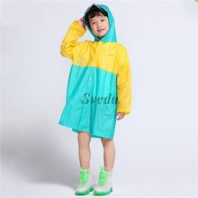 Top selling raincoat for girls and boys Lovely waterproof raincoat for children
