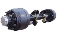 Rear Axle-English Type Axle York Axle Used Trailer Parts with ISO stud from Factory Direct