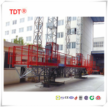 Construction lifting table aerial working platform windows cleaning gondola machine,mast climber