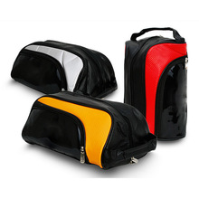 High Quality Custom Waterproof Leather Golf Travel Outdoor Sport Shoe Bag