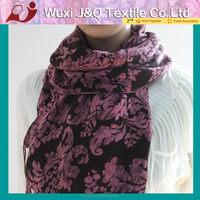 wool scarf woven men check square borong scarf