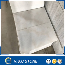 Natural stone building material polished white marble tiles
