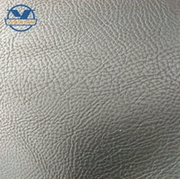 PU synthetic special embossing leather for lady shoe and bag