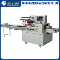 Automatic feeding pet bottle shrink sealing and cutting wrapping pillow packing machine ALD-600
