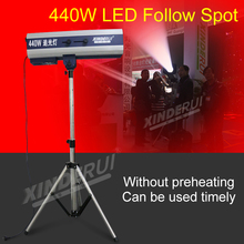 HOT SALE 440W HIGH LIGHT WEDING STAGE CONFERENCE CONCERT PERFORMANCE LED FOLLOW SPOT LIGHTS