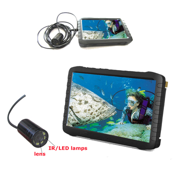 underwater video camera for boat inspection