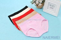 colorful wholesale fancy young girl cotton lady panty