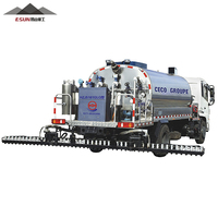 Intelligent bitumen emulsion sprayer truck