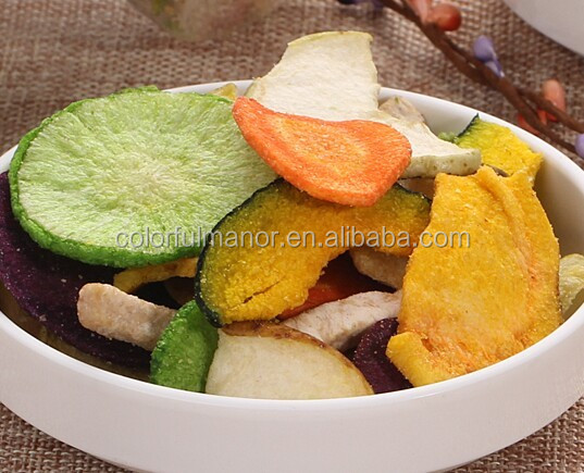 Organic And Healthy Vegetable Chips