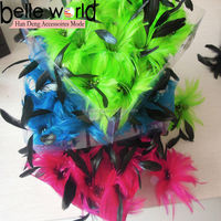 Party Wedding Headpiece Head Feather Flower Hair Pin Brooch Clip