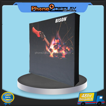 8ft velcro lightweight aluminum exhibition pop up display stand