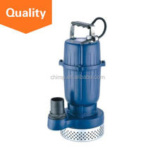 Chinese Supplier Chimp 0.55kw 0.75HP High Quality 100% Copper Wire Float Switch Best Aluminum Impeller Submersible Pump