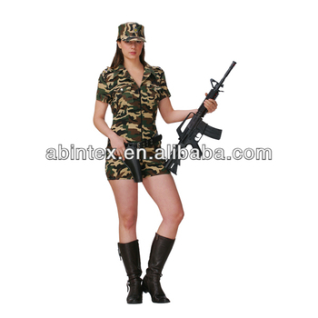 Camo soldier costume (08-354) adult (S/L)