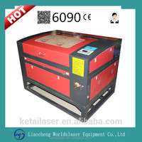 6090 100w Single Head CO2 CNC laser engraving machine desktop engraver laser engraving mashine with Moshi Draw/CAD/CDR system