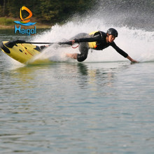 Take the Jetboard for surfing&Water skiing--Motorized surfboard Power jetboard