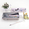 Metal Tin Personalized Fancy Pencil Box for Kids