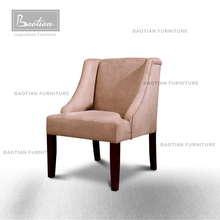 Microfibre suede different colours modern dinning room furniture chair from baotian furniture