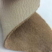 Wholesale litchi pattern raw cow hides skin grain leather