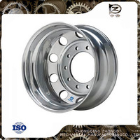 superior tractor trailer alloy tubeless wheel rim for sale