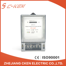 Cken Multifunction Meters Stop Digital Clamp Electric Three Phase Energy Meter