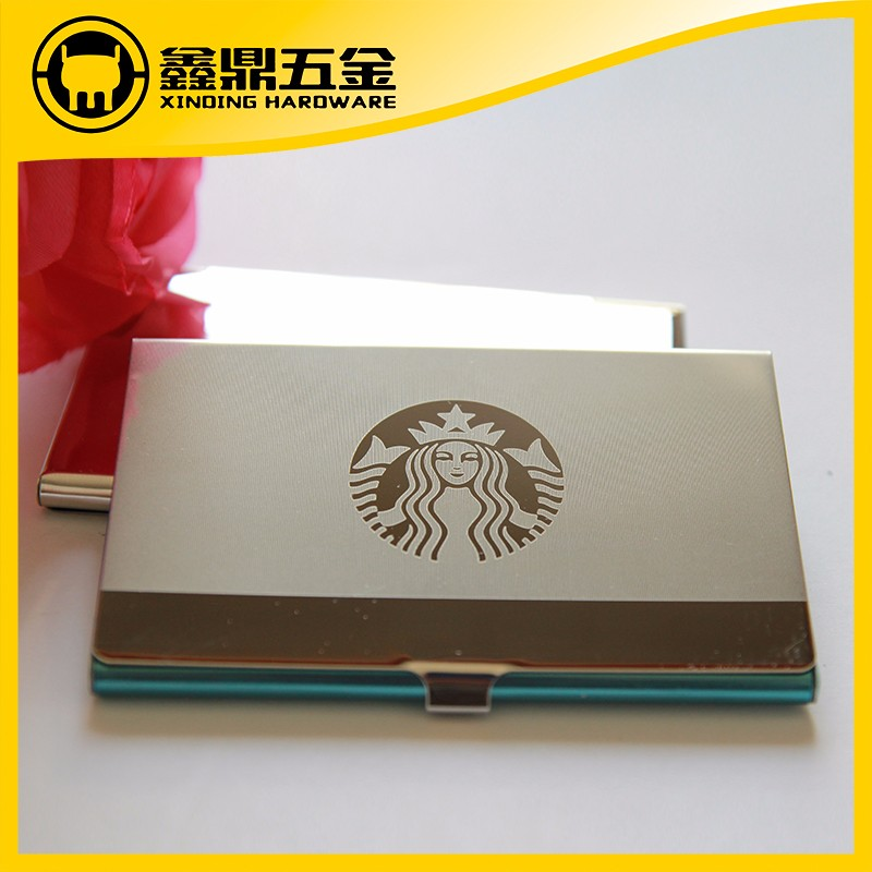 Stainless Steel Business Card Case For Starbucks Coffee - Buy 316l ...
