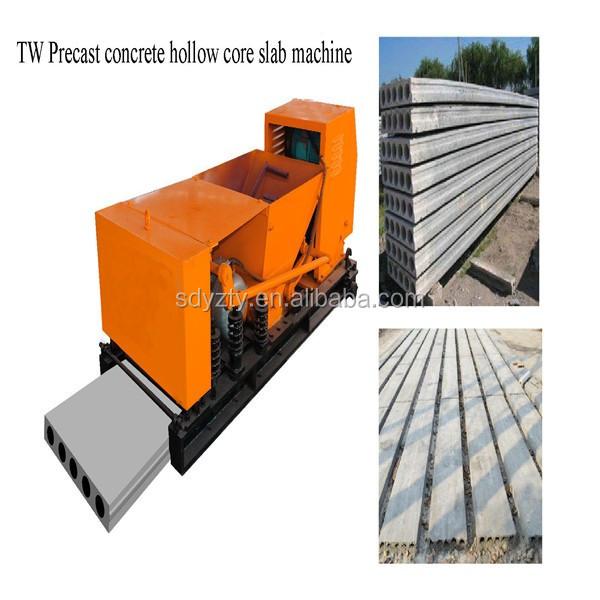 precast concrete hollow core slab machine13