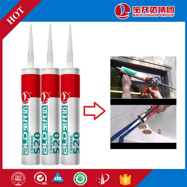 Low Modulus Windows and Doors Sealant Glues and Adhesives BLD520