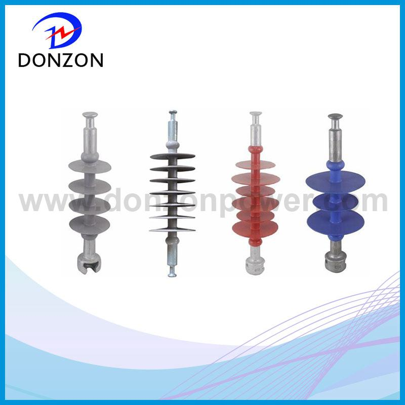silicone rubber -suspension composite insulator